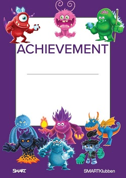 Achievement SMART Monster Online SMARTklubben