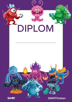 Diplom Monster SMART Learning Suite SLS Online SMARTKlubben