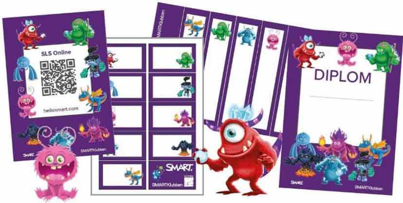 SMART Monster lektionsmateriel SMART Board SMART Learning Suite